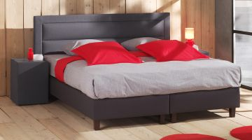 boxspring set exclusive carre opgemaakt