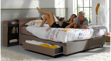 SwissSleep Boxspring Set Met Lades