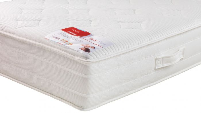 SwissSleep 1000 Visco V2 microveren matras detail