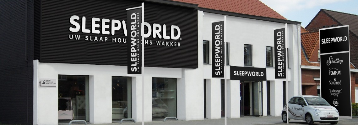 Sleepworld winkel Boortmeerbeek